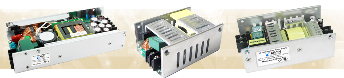 U Bracket Power Supply products from Beta Dyne provide semi-enclosed packaging and ease of mounting.